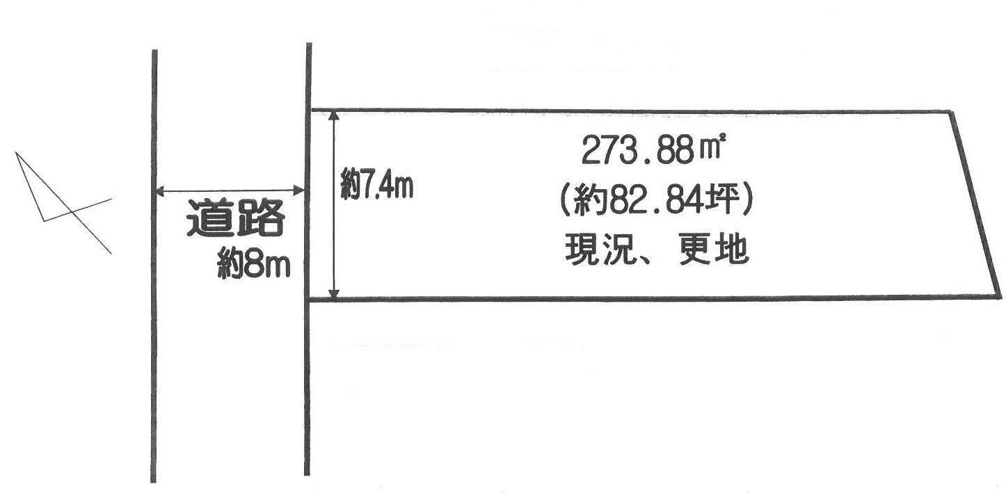 【売地】新野辺880間